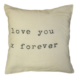 SUGARBOO PILLOW LOVE YOU X FOREVER