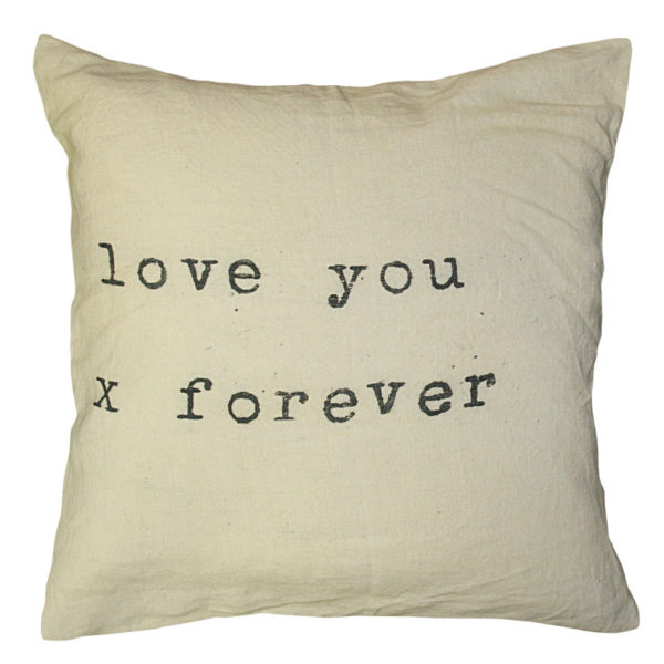 Sugarboo Pillow- Love You X Forever
