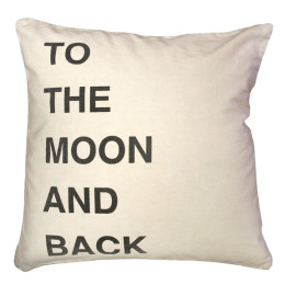 SUGARBOO PILLOW TO THE MOON AND BACK