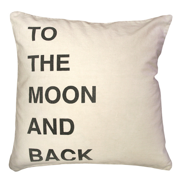 Sugarboo Pillow- To The Moon And Back