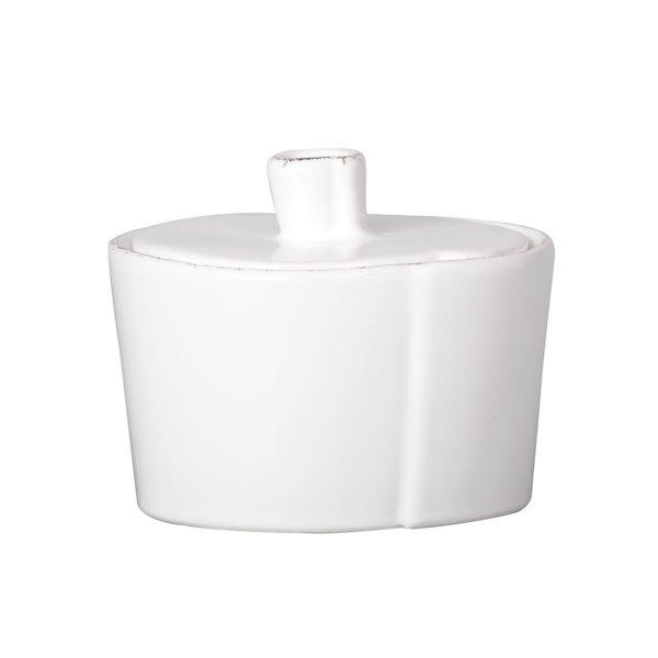 Vietri Lastra Sugar Bowl