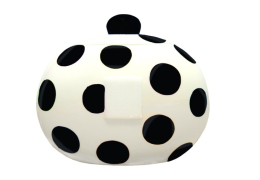 black dot cookie jar