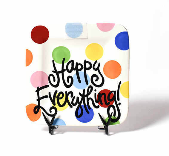 Happy Everything Bright Dot Mini Platter