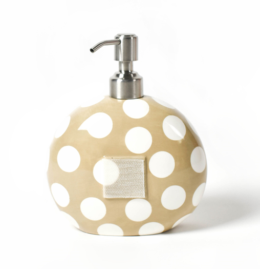 Happy Everything Neutral Dot Mini Soap Pump