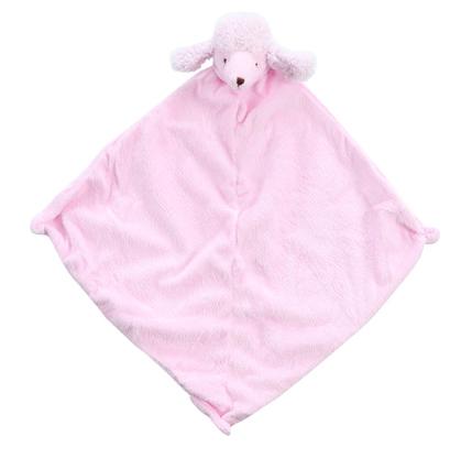 Angel Dear Pink Poodle Blankie