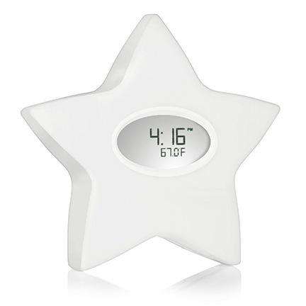 Aden + Anais Serenity Star Nursery Clock