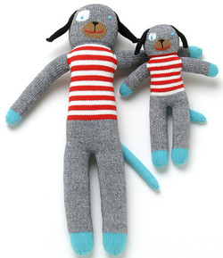 Blabla Knit Doll- Andiamo The Dog