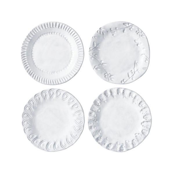 Vietri Incanto Assorted Canape Plates