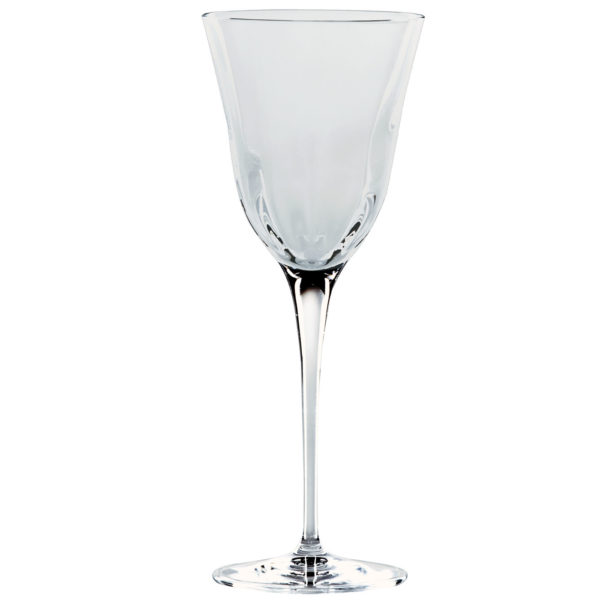 Vietri Optical Smoke Water Glass