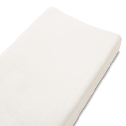A+A  BAMBOO CHANGING PAD COVER EARTHLY WHITE
