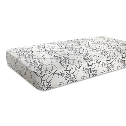 Aden + Anais Moonlight Leafy Bamboo Crib Sheet