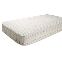 A+A BAMBOO CRIB SHEET TRANQUILITY BEADS