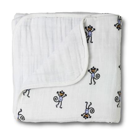 Aden + Anais Jungle Jam Monkey Classic Dream Blanket