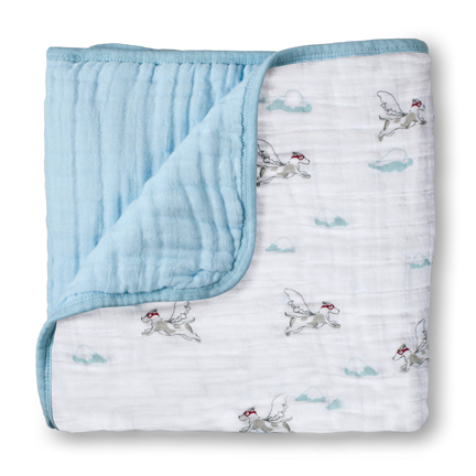 Aden + Anais Liam The Brave Flying Dog Classic Dream Blanket