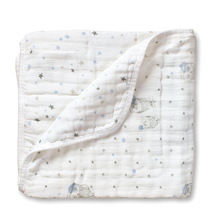 Aden + Anais Night Sky Owl Starburst Classic Dream Blanket