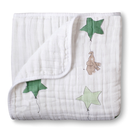 Aden + Anais Up, Up, & Away Elephant Classic Dream Blanket