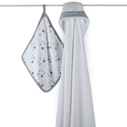 A+A HOODED TOWEL SET TWINKLE