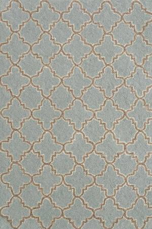 Plain Tin Wool Micro Hooked Rug- Slate