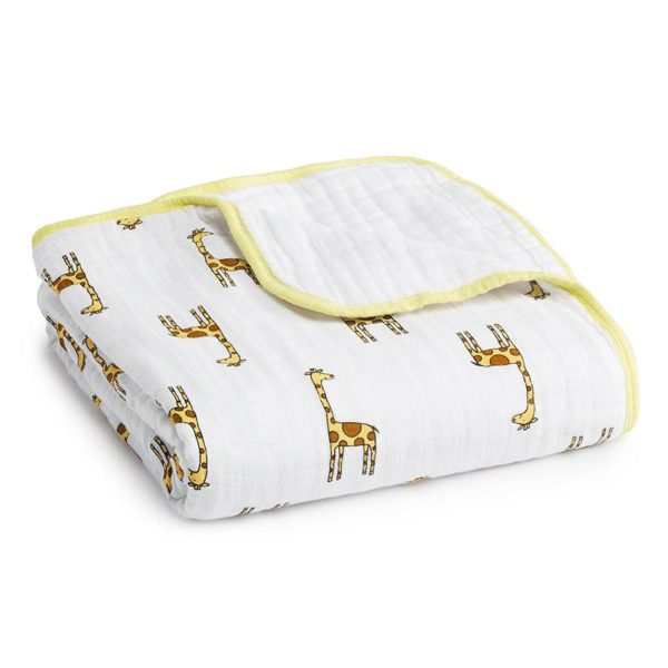 Aden + Anais Jungle Jam Giraffe Classic Dream Blanket
