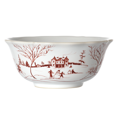 Juliska Country Estate Winter Frolic Cereal Bowl