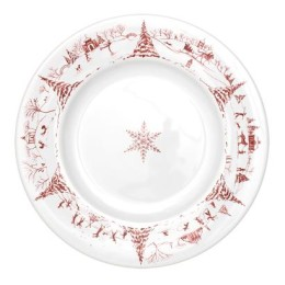 JULISKA COUNTRY ESTATE DINNER PLATE RUBY