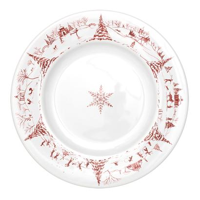 Juliska Country Estate Winter Frolic Ruby Dinner Plate