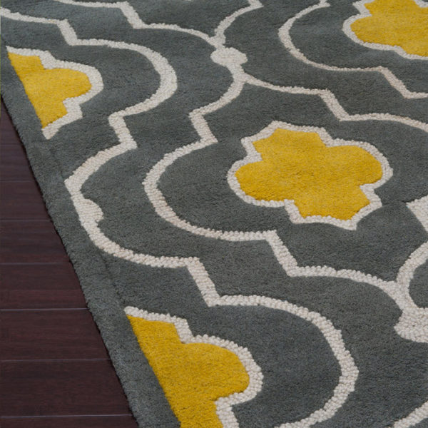 LOLOI BRIGHTON GOLD & GRAY RUG 1