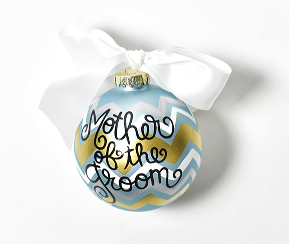 Coton Colors Mother Of The Groom Glass Ornament