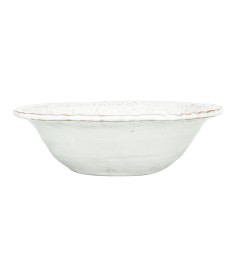 VIETRI BELLEZZA CEREAL BOWL WHITE