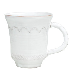 VIETRI BELLEZZA MUG WHITE