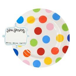 multi dot entertaining big platter