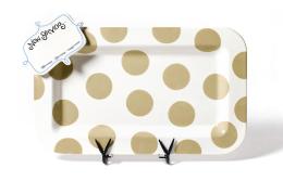 neutral dot entertaining platter