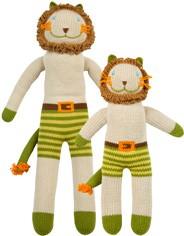 Bla Bla Charles The Lion Knit Doll