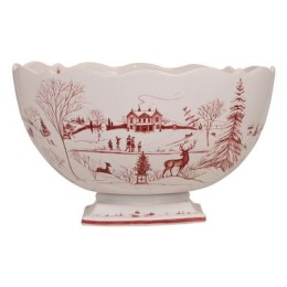 Juliska Country Estate Winter Frolic Party Centerpiece Bowl