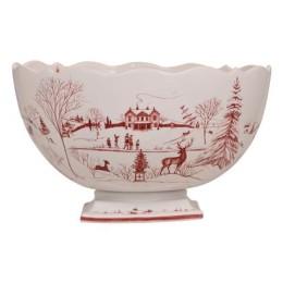 Juliska Country Estate Winter Frolic Party Centerpiece Bowl