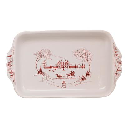 Juliska Country Estate Winter Frolic Baking Dish