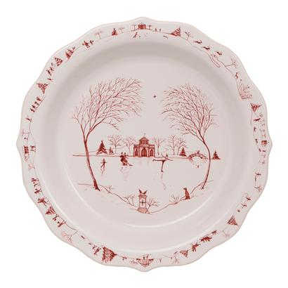 Juliska Country Estate Winter Frolic Pie Dish