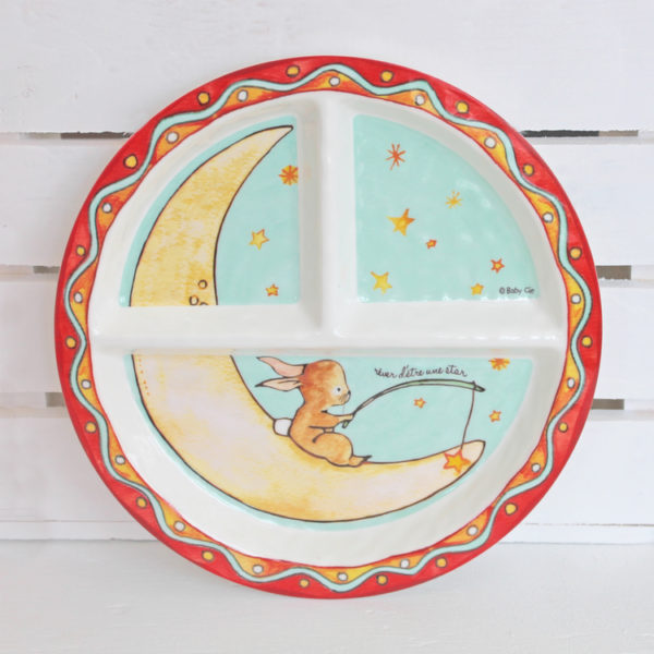 Baby Cie Dani Wish Upon A Star Section Plate