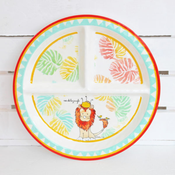 Baby Cie Dani King Of The Jungle Section Plate