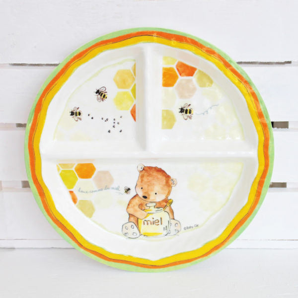 Baby Cie Dani Sweet As Honey Section Plate