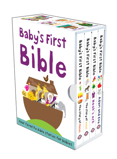 Baby's First Bible Slipcase By Roger Priddy