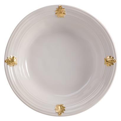 Juliska Acanthus Gold Medium Serving Bowl
