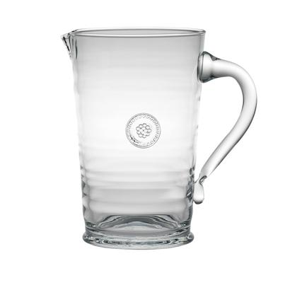 Juliska Berry & Thread Glasssware Pitcher
