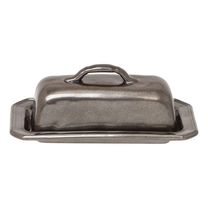 Juliska Pewter Butter Dish