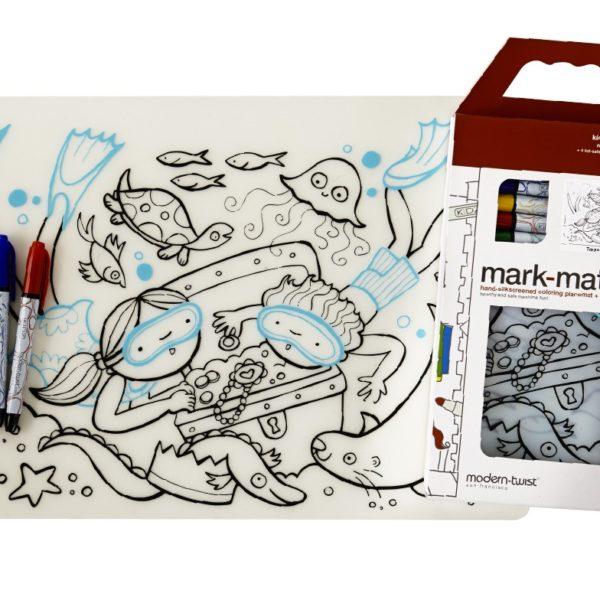 Mark-Mat Treasure Chest + 4 Markers