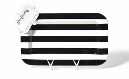 black white stripe entertaining