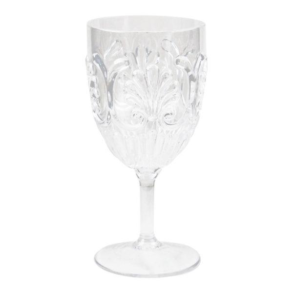 Le Cadeaux Fleur Wine Glass