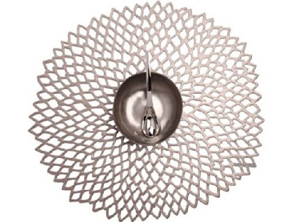 Chilewich Gunmetal Dahlia Placemat