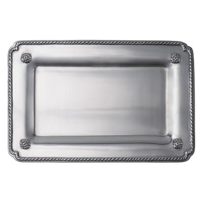 Juliska Berry & Thread Metal Small Rectangular Gift Tray