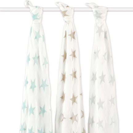 Aden + Anais Milky Way Bamboo Swaddle Set